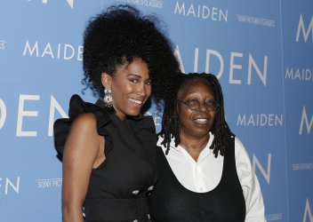 Whoopi Goldberg at the 'Maiden' New York premiere