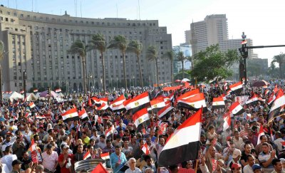 Egyptian Protesters Demand President Mohamed Morsi Resign in Cairo