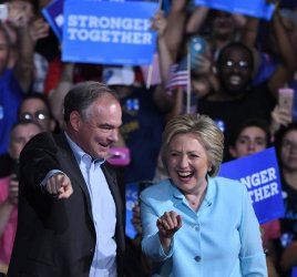 Clinton Introduces Vice Presidental Pick Tim Kaine in Miami Florida