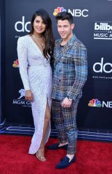 Priyanka Chopra and Nick Jonas attend the 2019 Billboard Music Awards in Las Vegas