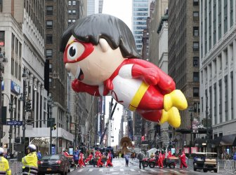 Macy's Thanksgivng Day Parade in New York