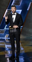 Jimmy Kimmel at the 67th Primetime Emmys in Los Angeles
