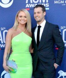 Miranda Lambert and Brendan McLoughlin attend the Academy of Country Music Awards in Las Vegas