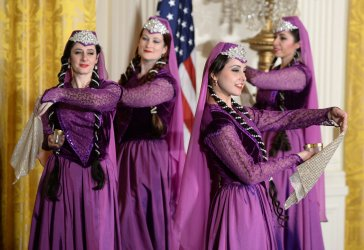 Persian New Year called Nowruz Observed in East Room of White House