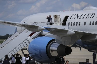Trump calls for Goodyear boycott After Company Bans Political Attire
