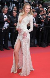 Romee Strijd attends the Cannes Film Festival