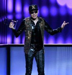 Raymix wins award at the Billboard Latin Music Awards in Las Vegas