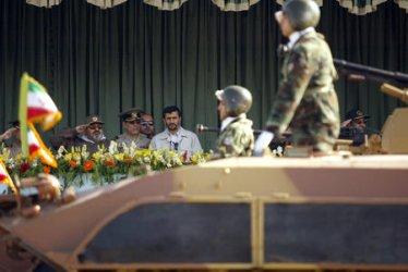 IRAN PARADE MARKING START OF IRAN-IRAQ WAR