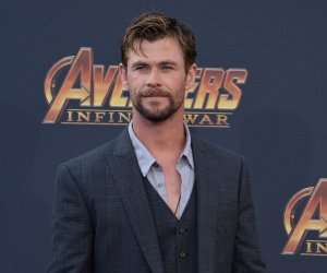 "Chris Hemsworth atends the ""Avengers: Infinity Wars"" premiere in Los Angeles"