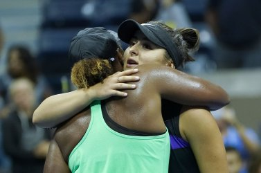 Blanca Andreescu, of Canada,wins at the US Open