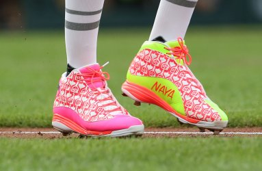 St. Louis Cardinals Dexter Fowler's shoes