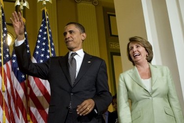 Obama meets with House Democratic Caucus on Capitol Hill
