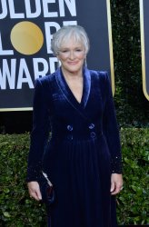 Glenn Close attends the 77th Golden Globe Awards in Beverly Hills