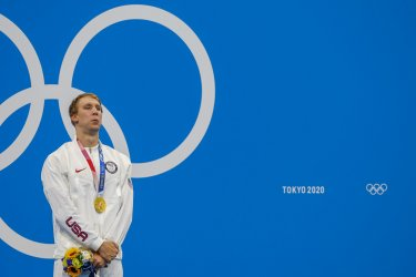 Chase Kalisz Gold Medal Winner at the Tokyo Olympics