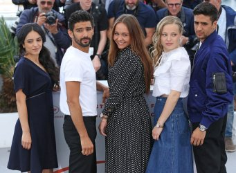 """The cast from """"Mektoub, My Love: Intermezzo"""" attends the Cannes Film Festival"""
