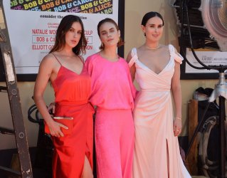 """Rumer Willis and sisters attend the """"Once Upon A Time... In Hollywood"""" premiere in Los Angeles"""