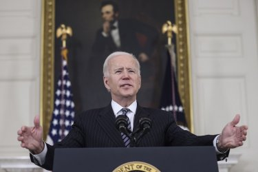 President Biden speaks on vaccinations at the White House