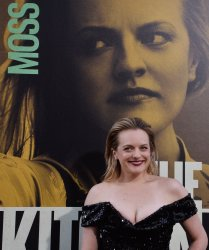 """Elisabeth Moss attends """"The Kitchen"""" premiere in Los Angeles"""