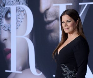 """Marcia Gay Harden attends the """"Fifty Shades Darker"""" premiere in Los Angeles"""