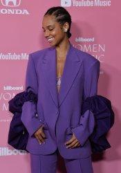 Alicia Keys attends Billboard's 14th annual Women in Music event in Los Angeles