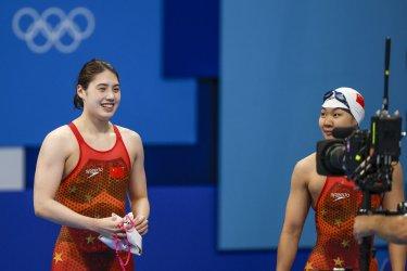 Yufel Zhang of China Gold Medal at the Tokyo Olympics