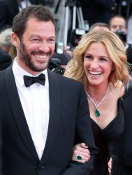 Dominic West and Julia Roberts attend the Cannes Film Festival