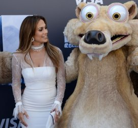 """Jennifer Lopez attends the """"Ice Age: Collision Course"""" premiere in Los Angeles"""