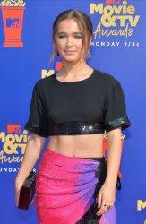 Haley Lu Richardson attends the MTV Movie & TV Awards in Santa Monica, California