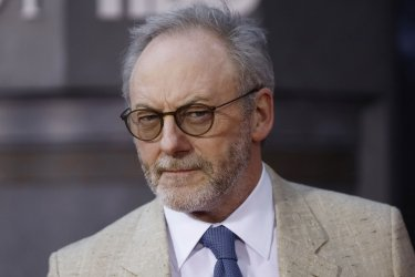 Liam Cunningham at the Season 8 premiere of Game of Thrones