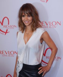 Halle Berry and Revlon celebrate achievements in cancer research during a luncheon in Beverly Hills