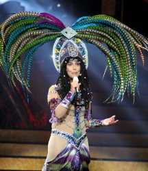Cher performs in concert in Florida