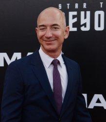 """Jeff Bezos attends the """"Star Trek Beyond"""" premiere in San Diego"""