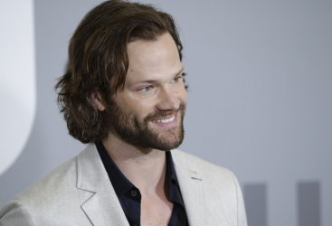 Jared Padalecki at The CW network Upfront in New York