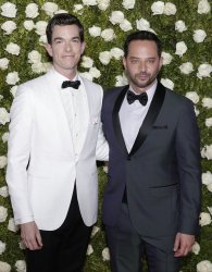 John Mulaney and Nick Kroll attend the 71st Annual Tony Awards
