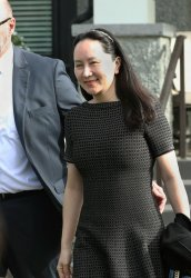 Huawei CFO Meng Wanzhou leaves house for BC Sumpreme Court in Vancouver