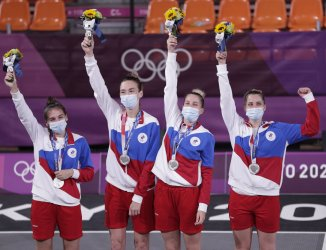 ROC Wins Silver in Women's 3X3 Basketball at Tokyo Olympics