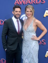 Thomas Rhett and Lauren Akins attend the 53rd annual Academy of Country Music Awards in Las Vegas