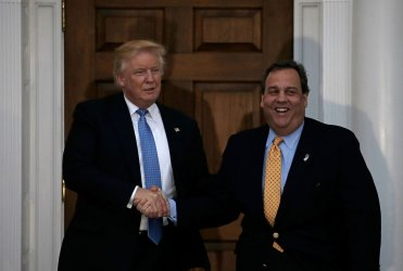 US President-elect Donald Trump at Trump International Golf Club