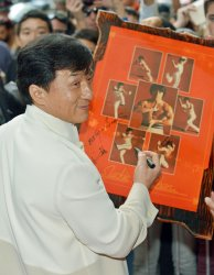 Jackie Chan promotes new film 'Chinese Zodiac' at the Toronto International Film Festival
