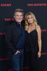 """Kurt Russell and Goldie Hawn attend """"The Hateful Eight"""" premiere in Los Angeles"""