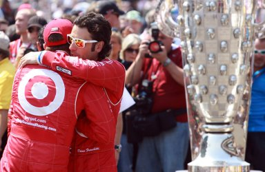 Teammate Dixon and Franchitti Before Indianapolis 500