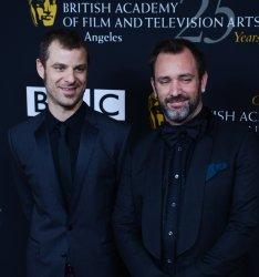 Matt Stone and Trey Parker attend the BAFTA LA Britannia Awards in Beverly Hills, California