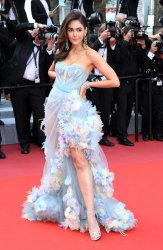 Araya Alberta Hargate attends the Cannes Film Festival