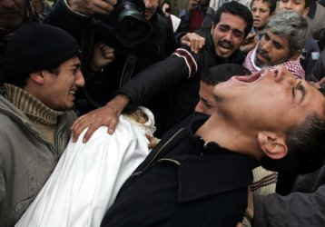 Israel Continues Bombing Of Gaza