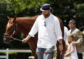 Triple Crown Contender I'll Have Another is Scratched the Day Before the 144th Belmont Stakes in New York City
