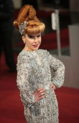 Paloma Faith arrives at the Baftas Awards Ceremony