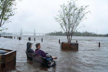 North Carolina following Hurricane now tropical storm Florence