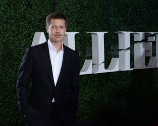 "Brad Pitt attends the ""Allied"" premiere in Los Angeles"