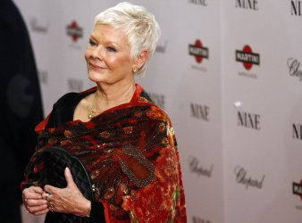 """Judi Dench arrives on the red carpet for the Premiere of """"Nine"""" at the Ziegfeld Theater in New York"""