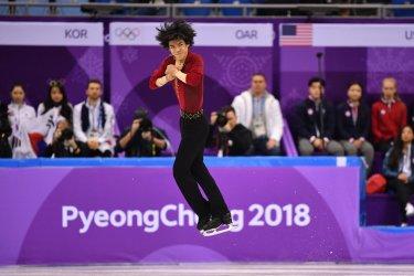 Men's Single Skating Short Program at Pyeongchang 2018 Winter Olympics